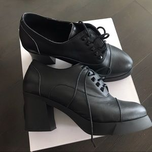 Shoes - Black Ankle heels boots
